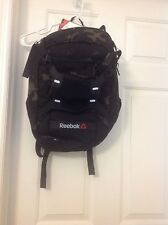 New unisex Reebok 1 series backpack(camo & black) with sneaker department