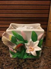 Porcelain Bag Container The Treasury Of Gifts Collection 1998 New In Box