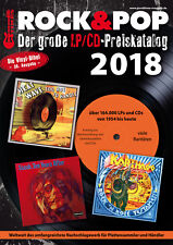 Rock & Pop Preiskatalog LP 2018 neu und ovp kein Porto