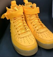 Nike Sf Af1 Mid Boys' Grade School Laser Orange/Laser Orange Aj0424 800 Size 7Y