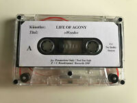 Life Of Agony / Weeds / Advance Promo Tape MC / Roadrunner / 1997