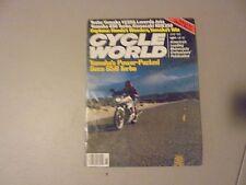 JUNE 1982 CYCLE WORLD MAGAZINE,YAMAHA YZ250,650 SECA,LAVERDA JOTA,KAWA KDX250