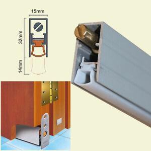 Auto Drop Down Door Bottom Seal Aluminum Weatherstrips Draught Excluders BH-M001