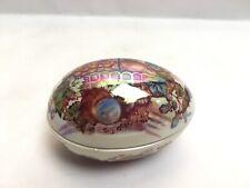 More details for vintage mason fruit basket egg trinket box made in england