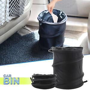 Car Folding Trash Can Bin Waste Basket Storage Garbage Bag Travel Litter Bin