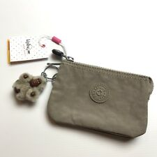 Kipling Creativity S Small Purse Warm Grey & Chaya monkey Designer Coin Holder