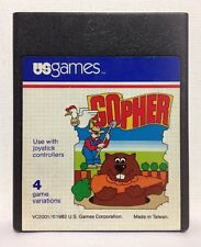 Gopher Atari Us Games Authentic