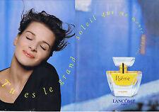 PUBLICITE ADVERTISING 074 1995 LANCOME Poême tu es le Grand