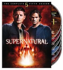 SUPERNATURAL: SEASON 5 DVD - THE COMPLETE FIFTH SEASON [6 DISCS] - NEW