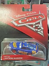 DISNEY PIXAR CARS 3 - FABULOUS LIGHTNING McQueen - RARE