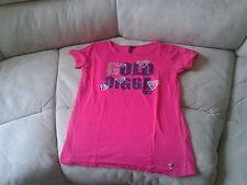Girls 11-12 Years - Fuschia Pink T-Shirt with Logo - Gold Digga