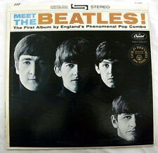 THE BEATLES - MEET THE BEATLES! CAPITOL ST 8-2047 STEREO LP=8.5, SLEEVE IS 8.0