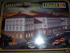 FALLER 110102 Bahnhof Friedrichstadt Exclusiv MODELL Teilgebaut