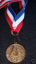 SOFTBALL OR  BASEBALL  MEDALS w RIBBON / FEMALE BASEBAL  12 silver  9 gold