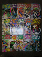 Power Pack #4,5,6,7,8,10,11,12,13,14,15,17,18,20 and #21--Marvel-Hulk 181-Venom