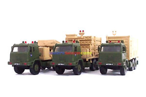 New 1/72 Diecast Tank Set of 3 Iron Dome Israel Missile Def Launcher Radar Truck