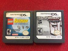 Lego Batman + Transformers (Nintendo DS) - Tested Guaranteed