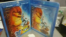 The Lion King (Blu-ray/DVD, 2011, 2-Disc Set, Diamond Edition) slip cover