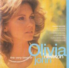 THE VERY BEST OF OLIVIA NEWTON-JOHN - CD