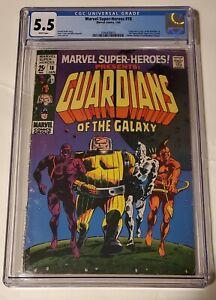 Marvel super heroes#18 cgc 5.5 (1st app &origin guardians of the galaxy.)🔥🔥🔥