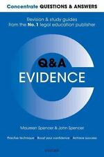 Concentrate Questions and Answers Evidence (Concentrate Law Questions & Answers