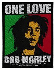 Bob Marley patche officiel écusson licence patch à coudre reggae rasta