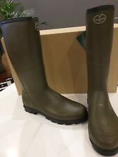 Le Chameau BTE Anjou EVO Thermal Neoprene Boots size 43 UK 9 Green Sale