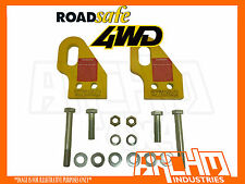 ROADSAFE PAIR OF HEAVY DUTY TOW POINTS-SUITS TOYOTA PRADO 120 SERIES