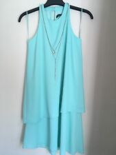 Bnwot Ladies Minty Green Chain Mini Dress Size 8 By Primark New