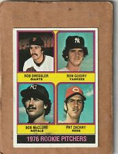 New Listing1976 Topps Baseball Rookie Pitchers Ron Guidry New York Yankees + #599 Nice
