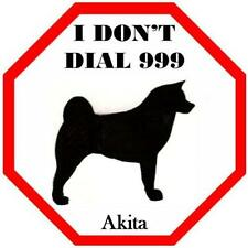 Unbranded Akita Dog Signs & Plaques