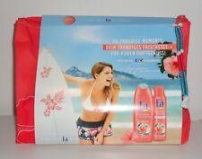 Fa Paradise Moments Geschenkset Deo Body Spray & Duschcreme + Kulturtasche