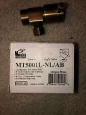 Mountain Plumbing MT5001-NL/AB Lever Handle Angle Valve (Antique Brass)