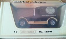 MATCHBOX MOY DIECAST MODEL VAN TALBOT 1927 Y5 WRIGHTS COAL TAR SOAP