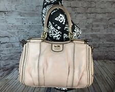 Coach Carrie Madison Pinnacle Zig-Zag Perforated Satchel 23745