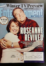 Entertainment Weekly 1/12/18 Winter TV previews; ROSEANNE; THE LAST JEDI secrets