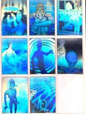 THERE ARE ALIENS AMONG US - ALL HOLOGRAM 1992 CARD SET