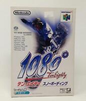 1080 Snowboarding Nintendo 64 Video Game