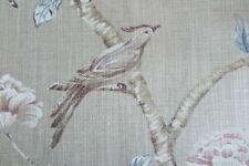 Zoffany Curtain Fabric /'Phoebe/' 3.5 METRES 350cm Cadmium Yellow 100/% Linen