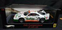 1:18 HOT WHEELS ELITE FERRARI F40 COMPETIZIONE LM 1995 #29 TOTIP  NEW SEALED