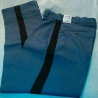 NWT Pants size 30-33 Elbeco New Men's Uniforms Size 30 Uniform Black Stripe Mens
