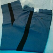 NWT Pants size 30-33 Elbeco New Men's Uniforms Size 30 Uniform Black Stripe Mens