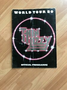 Thin Lizzy World Tour 80 Official Programme