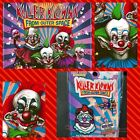 Killer Klowns From Outer Space  Pin And Patch Set Spirit Halloween Exclusive