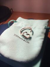Tiffany Elsa Peretti Open Heart Ring Size Q