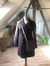 Manteau femme laine marron chocolat BENETTON neuf jamais porté taille 38
