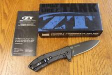 KAI Zero Tolerance ZT 0801BLK Rexford Folding Knife ELMAX & Titanium PRIORITY!!!