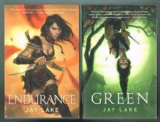 Green and Endurance by Jay Lake (Both 1st Trade Edition Printings)