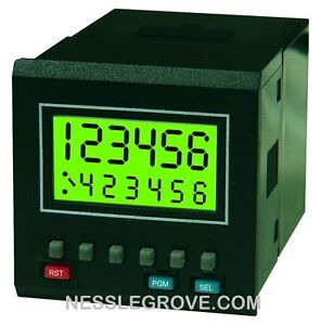 Trumeter 7922 LCD programmable preset counter with prescaler