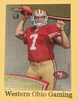 2011 Topps Finest Colin Kaepernick #52 Rookie Card RC
